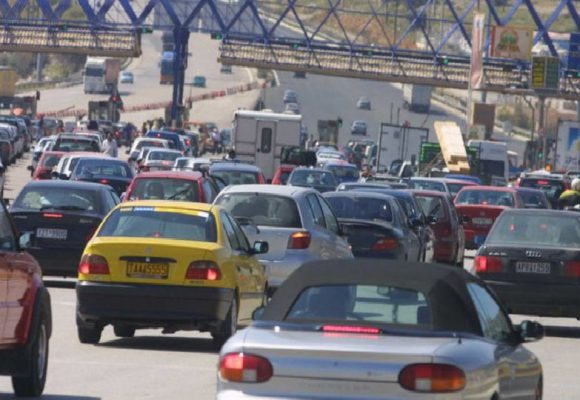 Πασχαλινή έξοδος: Έχουν ήδη φύγει 133.592 αυτοκίνητα