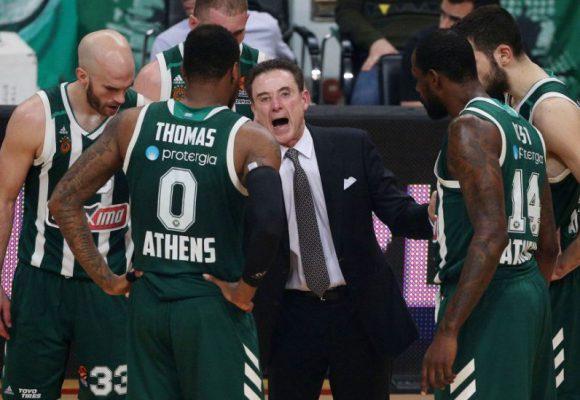 Παναθηναϊκός: Στο -6 οι «πράσινοι» στο μπάσκετ
