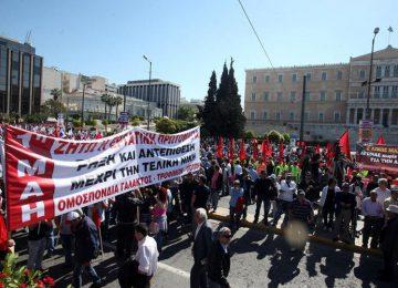 Πρωτομαγιά: Οι πορείες σε Αθήνα και Θεσσαλονίκη