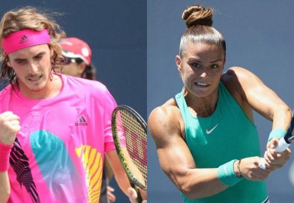 Τσιτσιπάς και Σάκαρη μεταμόρφωσαν το ελληνικό τένις