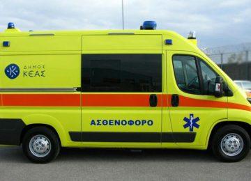 Εύβοια: Θανατηφόρο τροχαίο – Πέθανε στο νοσοκομείο