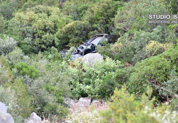 Αργολίδα: Τύχη βουνό για οδηγό αγροτικού -Επεσε από γκρεμό και σώθηκε