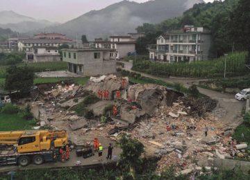 Σεισμός τώρα: Κίνα – Φονικός σεισμός 6 Ρίχτερ