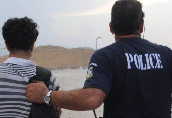 Λέσβος: Συλλήψεις μεταναστών