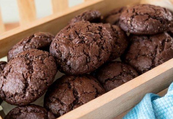 Συνταγή: Μπισκότα σοκολάτας με cranberries