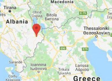 Σεισμός τώρα: 4,9 Ρίχτερ δυτικά της Καστοριάς