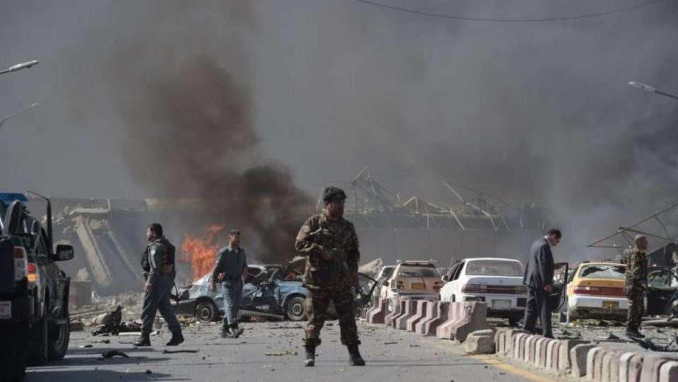Αφγανιστάν: Ισχυρή έκρηξη στην περιοχή όπου βρίσκεται το υπουργείο Άμυνας στην Καμπούλ