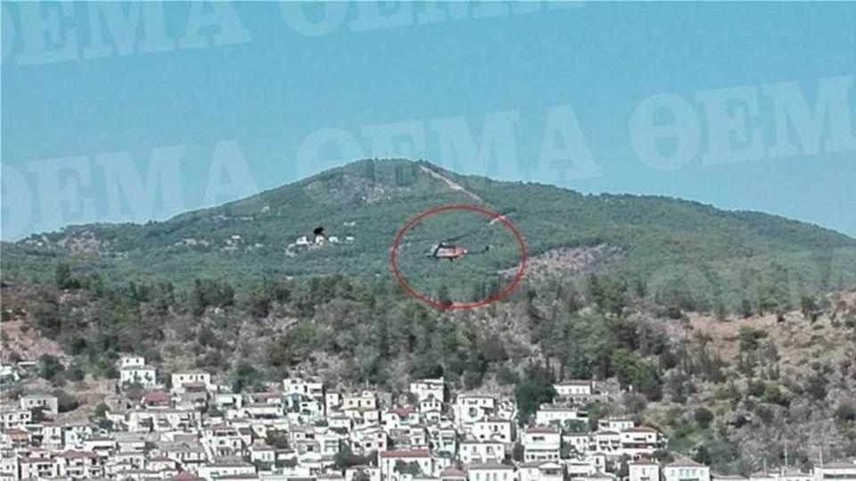 Πόρος: Η στιγμή που έπεσε το ελικόπτερο (ΦΩΤΟ)