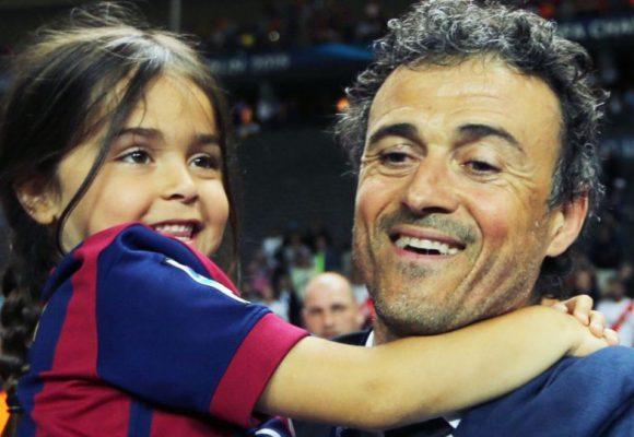 Λουίς Ενρίκε: «Εχασε» την 9χρονη κόρη του