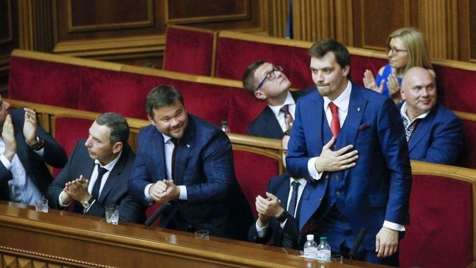 Ουκρανία: Νέος πρωθυπουργός της Ουκρανίας ο 35χρονος Αλέξιι Γκοντσαρούκ