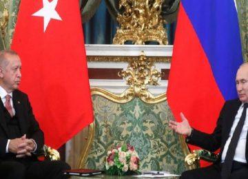 Ερντογάν: Στη Μόσχα για συνάντηση με Πούτιν για τη συριακή κρίση