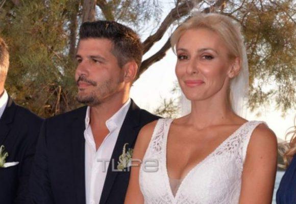 Μαρία Φραγκάκη: Παντρεύτηκε στην Πάρο (ΦΩΤΟ)