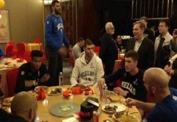 Μουντομπάσκετ 2019: Μοίρασε συγχαρητήρια στην Εθνική το προξενείο στην Κίνα
