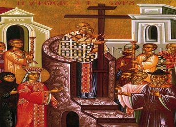 Ύψωση του Τιμίου Σταυρού – Γιορτή σήμερα 14 Σεπτεμβρίου – Ποιοι γιορτάζουν