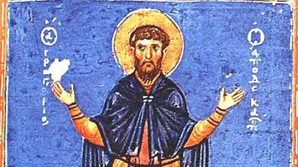Όσιος Γρηγόριος ο Δεκαπολίτης – Γιορτή σήμερα 20 Νοεμβρίου – Ποιοι γιορτάζουν