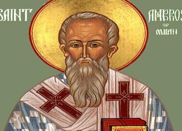Άγιος Αμβρόσιος – Γιορτή σήμερα 7 Δεκεμβρίου – Ποιοι γιορτάζουν