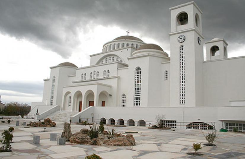 Άγιος Πορφύριος Καυσοκαλυβίτης : Το μοναστήρι που έχτισε στο Μήλεσι