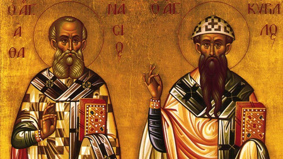 Άγιοι Αθανάσιος ο Μέγας και Κύριλλος – Γιορτή σήμερα 18 Ιανουαρίου – Ποιοι γιορτάζουν
