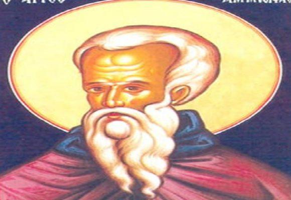 Όσιος Αμμωνάς – Γιορτή σήμερα 26 Ιανουαρίου – Ποιοι γιορτάζουν