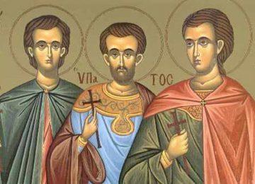 Άγιος Λεόντιος και οι συν αυτώ Υπάτιος και Θεόδουλος – Γιορτή σήμερα 18 Ιουνίου – Ποιοι γιορτάζουν