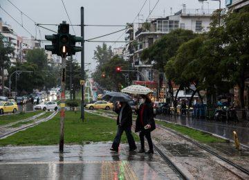 Καιρός σήμερα: Βροχές και καταιγίδες στις περισσότερες περιοχές της χώρας
