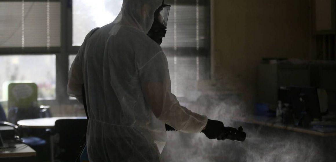 Κορονοϊός ΝΕΑ : Προειδοποίηση από ΕΟΦ – «Μην αφήνετε να σας ψεκάζουν στις εισόδους»