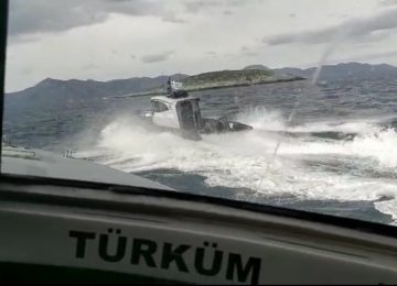 Ένταση στο Αιγαίο: Άγριο σκηνικό στα Ίμια – Τουρκική ακταιωρός εμβόλισε σκάφος του λιμενικού (video)