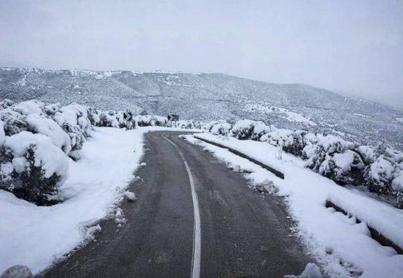 Κακοκαιρία «Λέανδρος»: Ξεκίνησε η ψυχρή εισβολή – Σαρώνει τα πάντα η κακοκαιρία, πού χιονίζει τώρα (video)