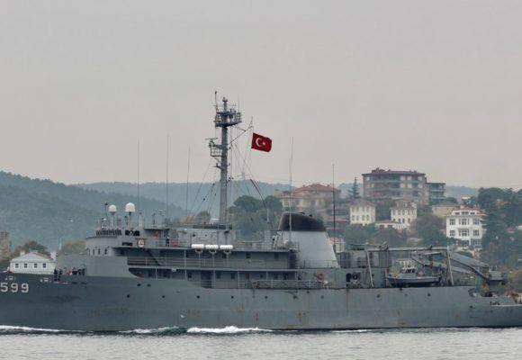 Δεν σταματούν την προπαγάνδα οι Τούρκοι – Το σουλάτσο του Τσεσμέ στο Αιγαίο και η ελληνική απάντηση (video)