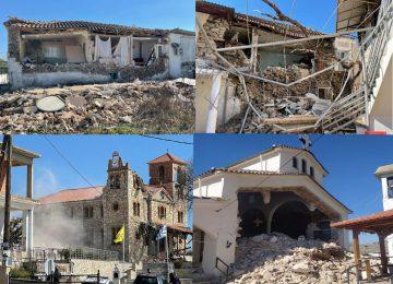 ΣΕΙΣΜΟΣ 6 ρίχτερ στην Ελασσόνα: Κατέρρευσαν σπίτια και εκκλησίες, ζημιές σε σχολεία